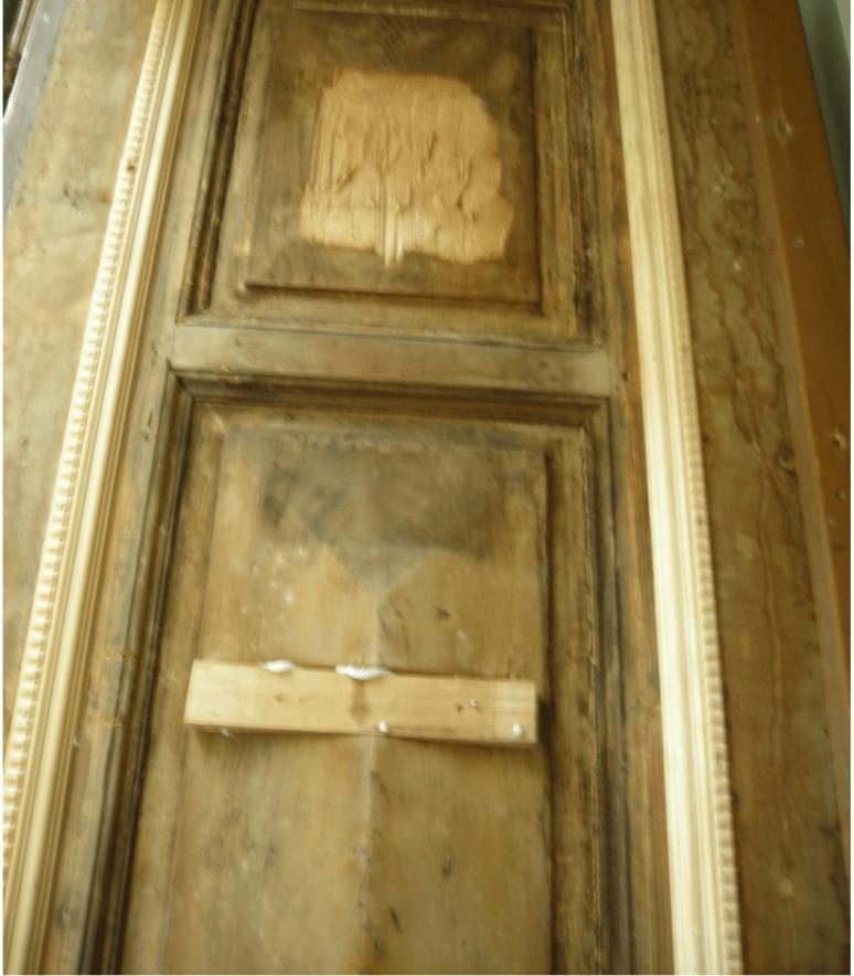 Rückbau Eingangstür