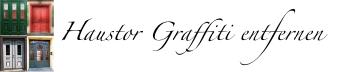 Haustor-graffiti-entfernen