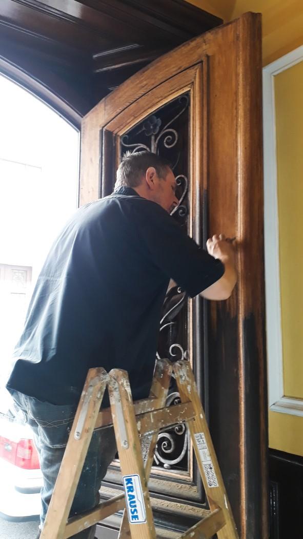 Tür Sanierung