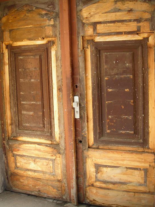 Restaurierung Eingangstür