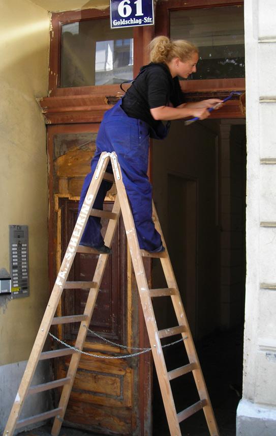 Sanierung und Restauration von Eingangstüren