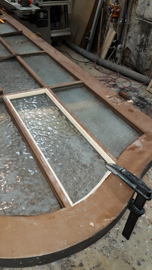 rückbau Eingangsportal