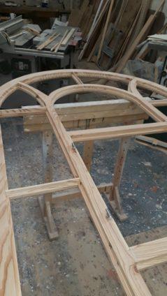 Fenster Rahmen Aufarbeitung