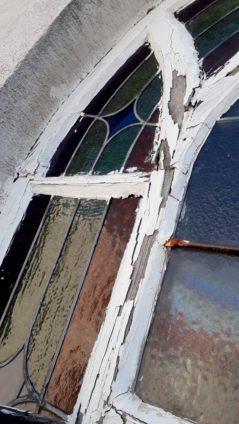 Fenster vor Sanierung