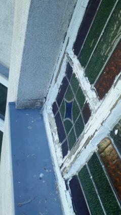 Fenster Butzenscheiben Restaurierung